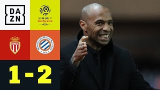 Thierry Henry setzt Pleiten-Serie fort: Monaco - Montpellier 1:2 | Ligue 1 | Highlights