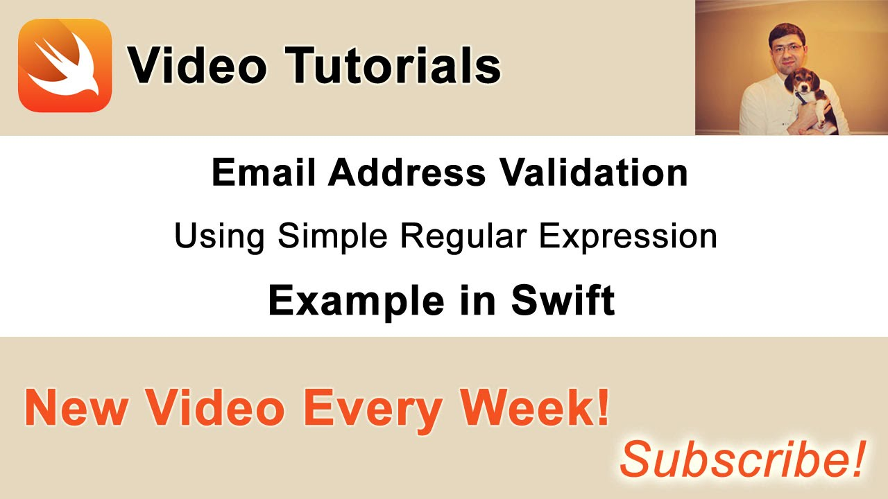 Email Address Validation with Simple Regular Expression in Swift ...