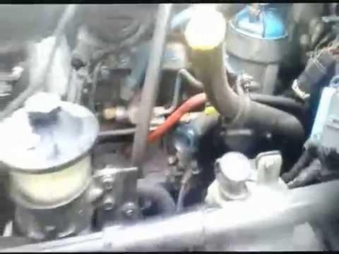 MOTOR DIESEL INTERNATIONAL NAVISTAR DT 466 ELECTRONICO SEIS EN LINEA   PARADO Y DETENIDO  VIDEO