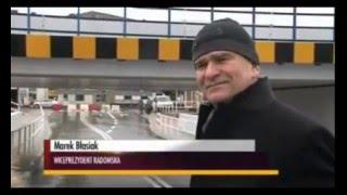 Błasiak o mostku w Radomsku