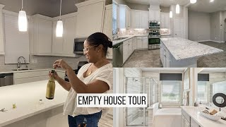 Empty House Tour | I bought my DREAM New Build Luxury Townhome!