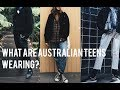 What Australian Highschoolers are wearing