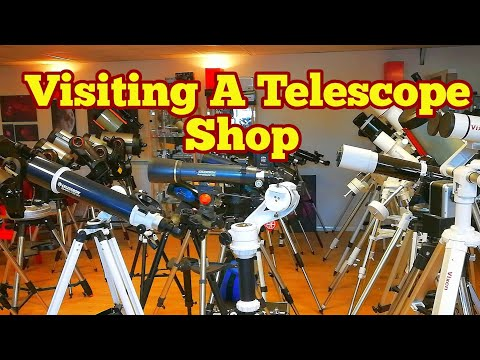 Visiting A Telescope Shop/ Buying Celestron C90 Maksutov/ Tring Astronomy Centre