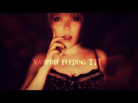 ☆★ASMR★☆ Sucking your blood   Vampire Feeding III