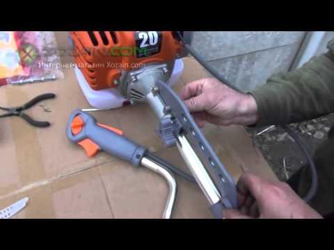инструкция по сборке мотокосы