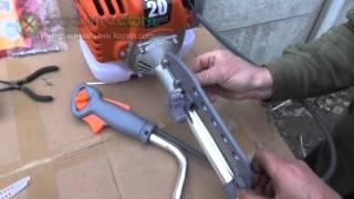 Відео-інструкція по збірці бензокоси Іжмаш Industrial Line GT 4350