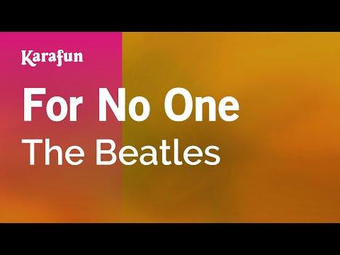 Karaoke For No One - The Beatles *