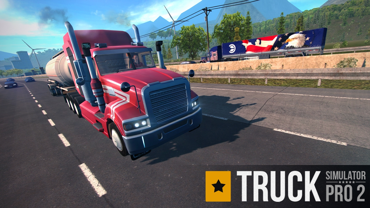 Truck Simulator PRO 2 - iOS & Android trailer