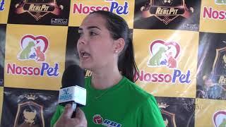 Nayara Carvalho no 1º encontro de Pitbulls