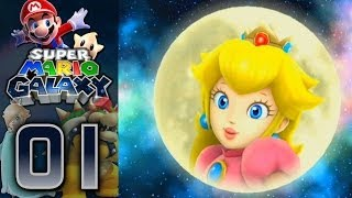 Super Mario Galaxy (100%): Part 1 - Welcome to New Galaxy!!
