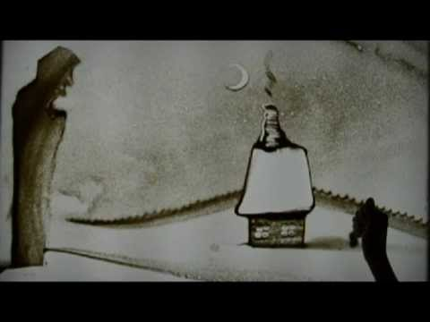 Sand animation. Classical music for children. Antonín Dvořák - The Noon Witch