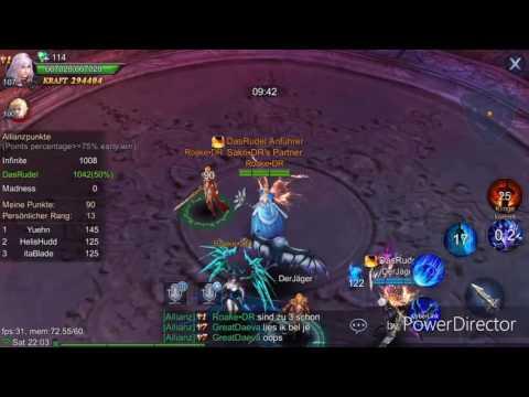 Goddess Primal Chaos ~ Alliance War 25.03 DasRudel vs Madness vs Infinite