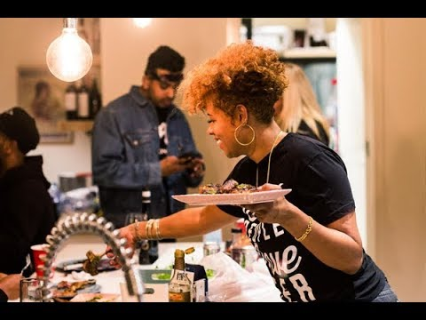 The best backyard BBQ hosted by Kelis