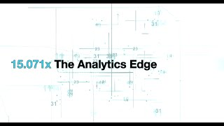 The Analytics Edge | MITx on edX | Course About Video thumbnail