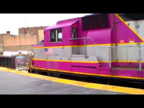 Mbta Trains @ Central Square Lynn!