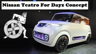 Nissan Teatro For Dayz Concept, live at 2015 TOKYO MOTOR SHOW