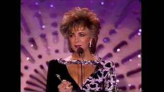 Elizabeth Taylor tribute at Golden Globes with Liza Minnelli