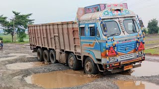 Deadly Road ☠️☠️ #07 | Trucks Are Driving On Dangerous Road | Driving Skill Of Drivers On Risky Road
