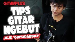 JEFRI IRSYAD (JEJE GUITARADDICT) - TERNYATA LATIHAN GITARNYA SEPERTI INI - GITAR TIPS | GitarPlus