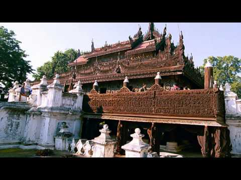 Royal Palace - Palais Royal - Mandalay ( Myanmar ) January 2014 - Slideshow