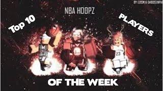 Roblox Nba Hoopz Phenom Top 10 giocatori della settimana #5