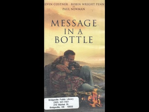 Opening To Message In A Bottle 1999 VHS