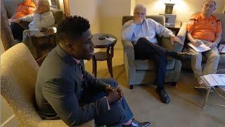 CFL Interview Room | Elie Bouka Meets Lions