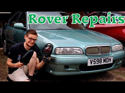 Can I Fix The BROKEN Rover 600 Window?