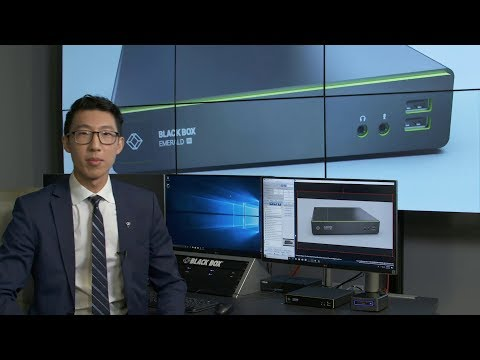 Black Box Emerald™ 4K KVM-over-IP and Boxilla™ Live Demonstration