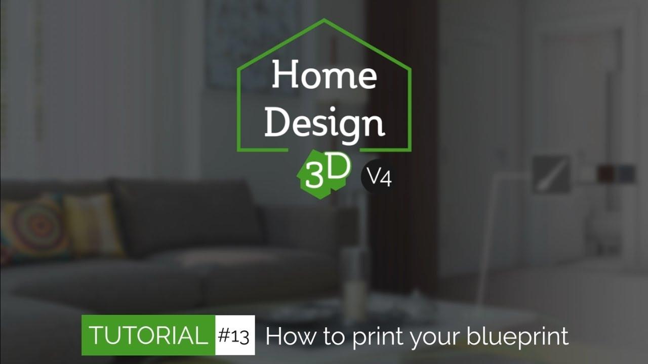 Home design 3d tuto 13 print your blueprint youtube home design 3d tuto 13 print your blueprint malvernweather Images