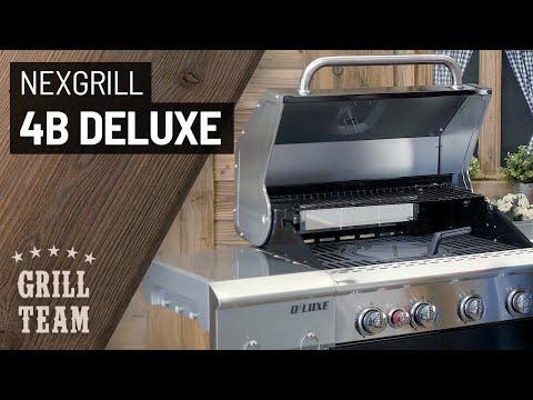 nexgrill-4b-deluxe-|-gasgrill-grillstation-mit-backburner-und-seitenkocher-|-vorstellung-&-test