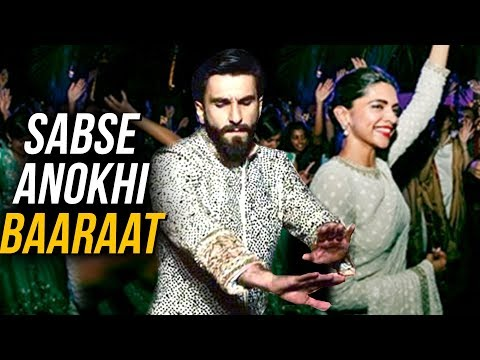 DeepVeer Wedding Italy  Ranveer Singh Grand Baaraat Entry Details LEAKED