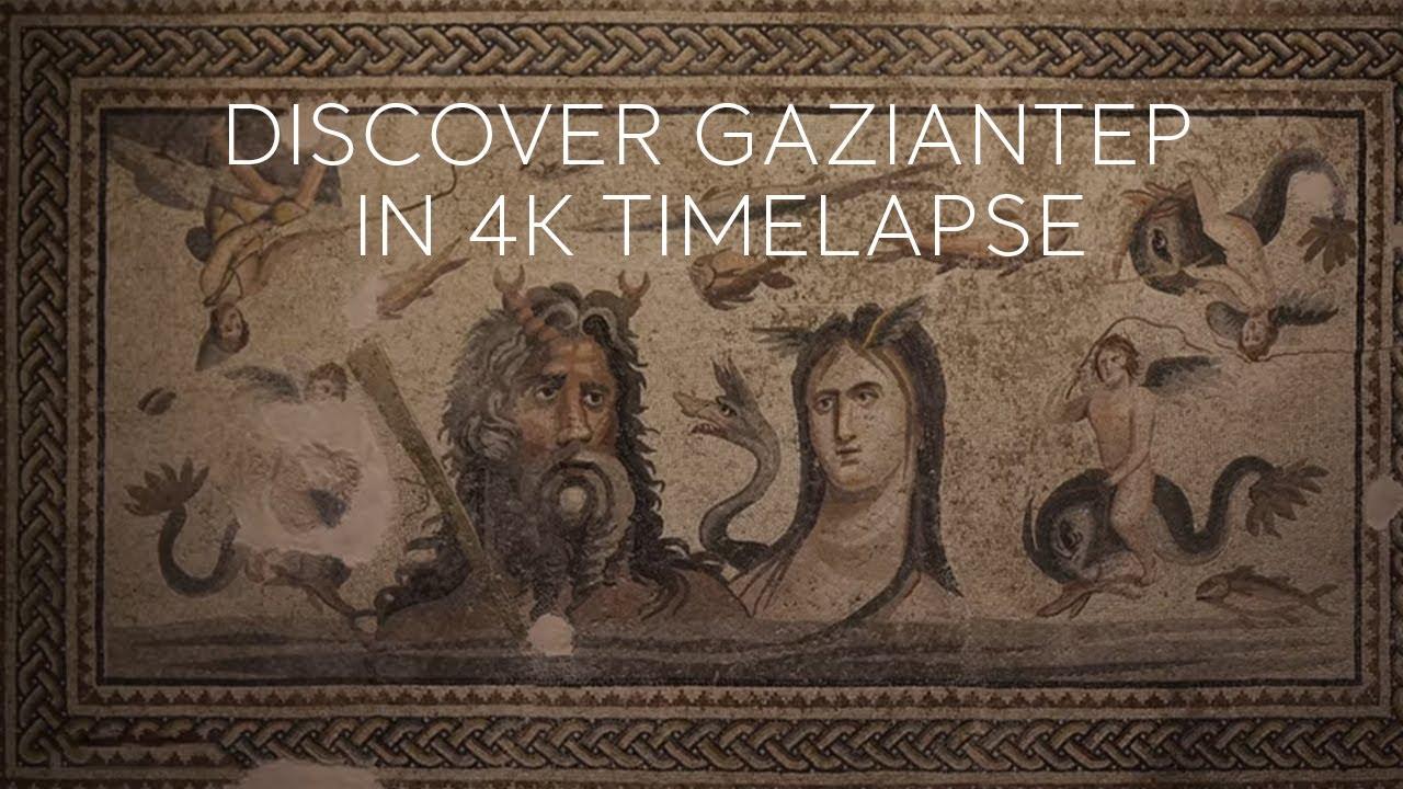 Go Turkey - Discover Gaziantep in 4K Timelapse