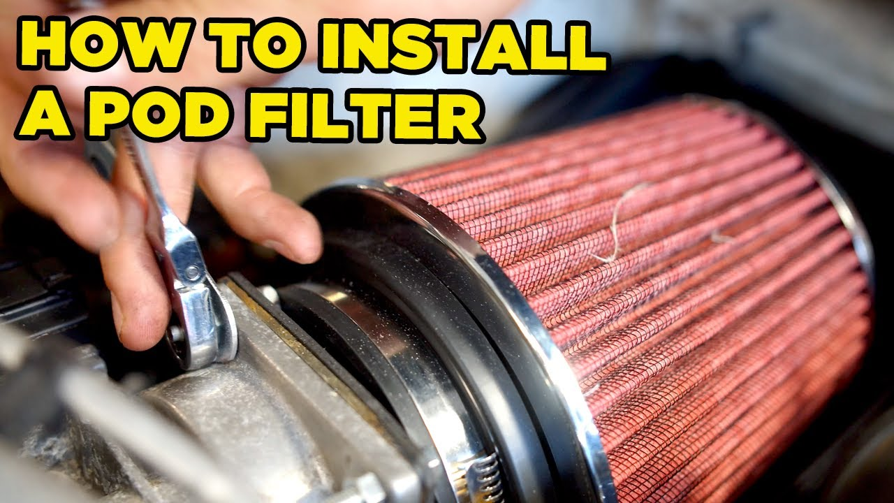 How To Install a POD Filter