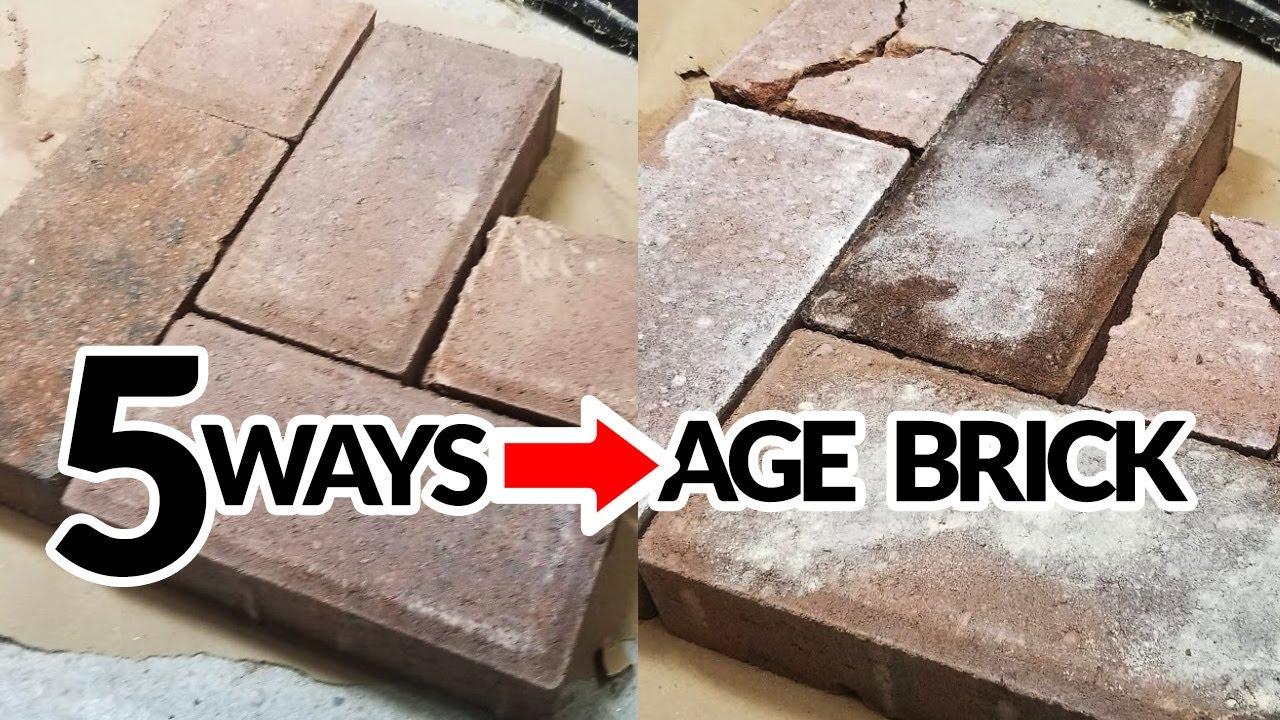 Bricks Look Old Diy Antique Brick