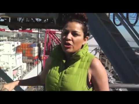 On the Job Crane Operator: Lilly Marincovic