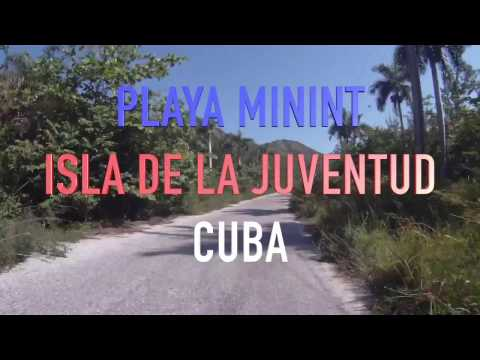 VOLANDO EN PLAYA MININT ISLA DE LA JUVENTUD CUBA