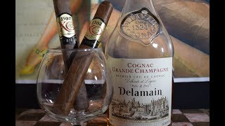 1502 XO with Delamain Pale and Dry XO Cognac: Cigar Pairing 71