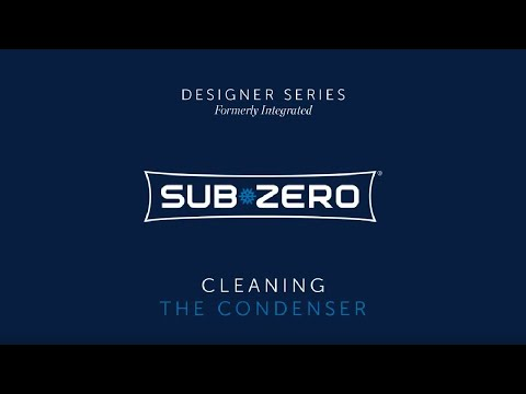 Sub-Zero Designer Formerly Integrated - How To Clean the Condenser
