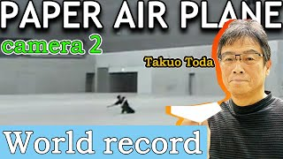 Paper Airplane Guinness Record-Other Angle(Takuo Toda)