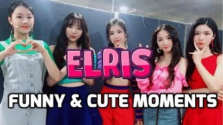 ELRIS [funny & cute moments] ♥