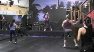 Dance fitness with Janel- No Behaviour by Machel Montano
