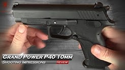 Grand Power P40 10mm Unbox and Field Strip