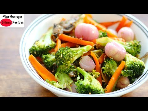 Vegetable Stir Fry Recipe - Keto Diet - Low Carb Dinner Recipes For Weight Loss | Skinny Recipes