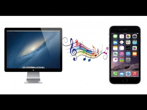 how to get music from your computer to your iphone