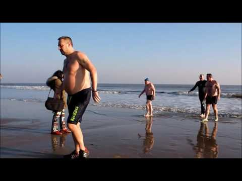 A Dip In The Ocean For The Noah's Ark Children's Hospital Charity 22.1.17