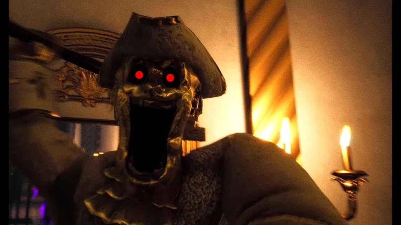 お城で「怖い彫像」に襲われるホラーゲーム - ゆっくり実況 【Dark Deception】 #1