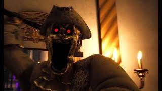 お城で「怖い彫像」に襲われるホラーゲーム - ゆっくり実況 【Dark Deception】