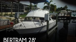 [UNAVAILABLE] Used 1983 Bertram Fly Bridge Cruiser II in Cape Coral, Florida