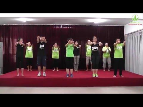 Chicken dance Vũ điệu gà - Hưỡng dẫn vận động Herbalife